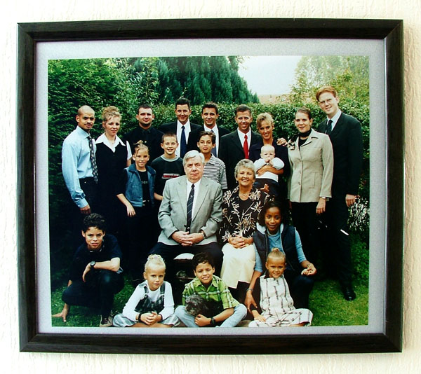 The whole family Huisman 15-09-2000
